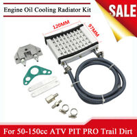 Engine Oil Cooler Cooling Radiator Kit For 125cc 140cc 150cc PIT PRO Trail Dirt