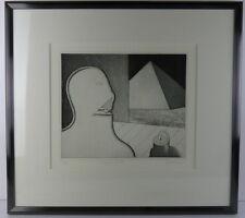 Niels Unbehagen, 1940, Grafik 63/65, Sphinx, Abstrakt