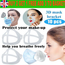 UK 3D Face Masks Bracket Support Frame for Comfortable Fit Mouth Breath Space