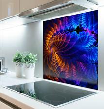 100cm x 100cm Digital Print Glass Splashback Heat Resistant Toughened 119965996