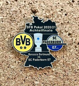 Pin Borussia Dortmund vs SC Paderborn 07 DFB Pokal 2020/21