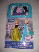 Disney Frozen Anna & Elsa Magnetic Activity Fun Dress Up Fashion Set NEW!