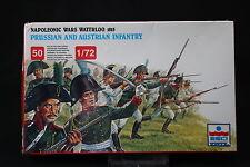 YB098 ESCI 1/72 maquette figurine 226 Prussian & Austrian Infantry Waterloo 1815