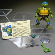 TMNT Head Droppin' Leo  100% COMPLETE Teenage Mutant Ninja Turtles