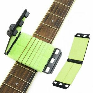 New Portable Quick Guitar String Scrubber Cleaner Bass Fingerboard cleaning tool