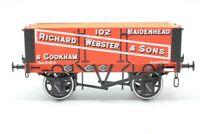 Dapol Gauge O,7F-052-002, 5 Plank Open Wagon 'Richard Webster & Sons