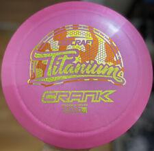 🔥Discraft Titanium Crank 173-74g New Candy Corn Stamp