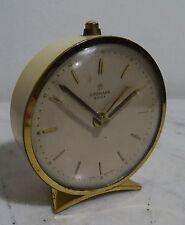 MECCANICA JUNGHANS BIVOX sveglia - 50's Mid Century allarme Clock-VINTAGE 60er