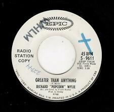 """NORTHERN SOUL-EPIC 9611-RICHARD """"POPCORN"""" WYLIE-GREATER THAN ANYTHING/HEAD OVER"""
