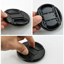 40.5mm Front Lens Cap Hood Cover Snap-on For Canon Nikon Pentax Fuji Sony Camera