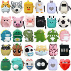 For Apple AirPods Case 2/1 Silicone Protector Animals Full Case Cover + Keychain