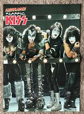 KISS -- 1992 UK Magazine centrefold poster
