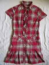 Esprit Polo Kleid Kurzarm Gr.34 Size XS women long polo shirt polo neck cotton