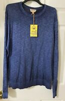 ISLAND REPUBLIC Men's Sweater Size XL. 100% Cotton New With Tags