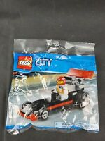 LEGO 30358 CITY Dragster Polybag (Brand New & Sealed)
