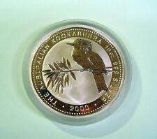10 oz Kookaburra 2000 - Silver 999 Australia - Silber 10 Unzen Australien -