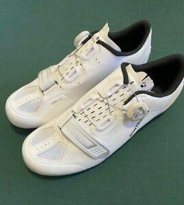 BONTRAGER VELOCIS White Carbon Cycling Road Shoe Boa Closer EU 40/ US 7 / UK 6