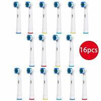 Testine di ricambio di tipo compatibile per spazzolino elettrico oral b - tes...