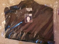 Ritz Pro Series Black Chef's Jacket, Size Large New With Tags