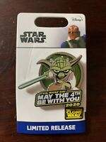 LIMITED LR- Disney Star Wars May The 4th Be With You- Yoda Clone Wars Pin 2020