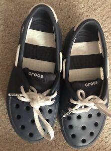 Crocs Loafers Boys Junior  Size UK 12/31Eu