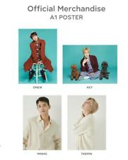 SHINee SMTOWN OFFICIAL GOODS SEASON'S GREETINGS 2020 POSTER NEW