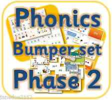 PHONICS LETTERS & SOUNDS PHASE 2 full teaching resources set EYFS KS1 on  CD