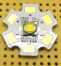 Cree XM-L T2 Warm White 3700K 10W LED Emitter & Star Mounted