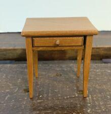 Vintage Dollhouse Furniture Side Table End Table MCM 1:12 Miniature Mid Century