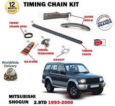 FOR MITSUBISHI SHOGUN 2.8TD V26 V46 4M40T ENGINE 1993-2000 NEW TIMING CHAIN KIT