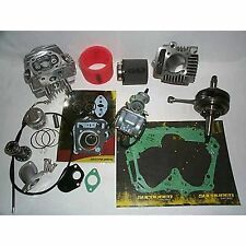 Honda CRF XR 50 70 Pit Bike 108cc Big Bore Stroker Kit 2 Race Head 52mm Piston