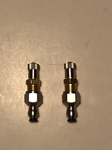 """1/8"""" Universal Air Shock hose kit-valves with independent Brass fill option"""