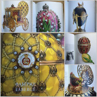 Rare book: Faberge - the treasures of the Russian Empire. [rus] [eng]