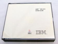 IBM AIX v4.3.3 CD-ROM Set Operating System 5765-C34 Vintage 2000