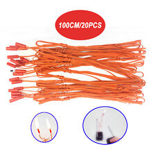 20 pcs 1M Igniter Match Wire for Fireworks Firing System electric wire