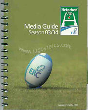 EUROPEAN 'HEINEKEN' CUP RUGBY MEDIA GUIDE 2003/04