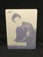 AL PACINO THE GODFATHER LEAF BLACK PRINTING PLATE 1/1 HOLLYWOOD SHOW