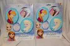 2 sets of Disney Frozen Beach Towel Clips By Boca Anna & Elsa (Ttl of 4 clips)