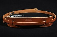 GRETSCH SKINNY LEATHER GUITAR STRAP NATURAL NEW
