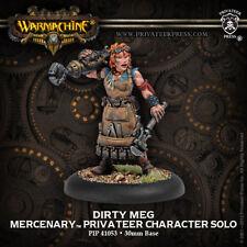 Warmachine: Mercenaries Dirty Meg Privateer Character Solo PIP 41053