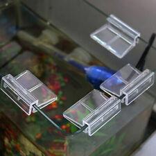 4x Aquarium Lid Holder Fish Tank Glass Cover Bracket Clip Clamp Support