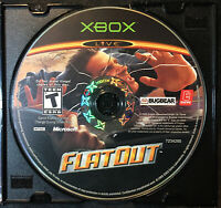 FlatOut — Disc Only! Fast Free Shipping! (Microsoft Xbox, 2005) Racing