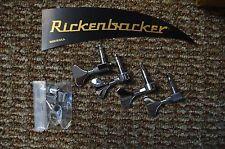 NEW! Rickenbacker Authorized Keywind Set (4) M4a CHR Free Shipping Bass Tuners
