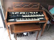 Vintage Hammond T212-1 Organ built in leslie and has rhythm Ii unit