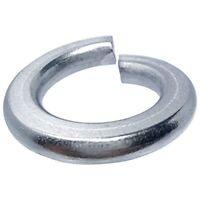 "3/8"" Stainless Steel Lock Washers Medium Split Grade 18-8 Qty 25"