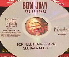Bon Jovi Bed Of Roses Aust. Live CD Super Rare Jon Keep The Faith Blaze Of Glory