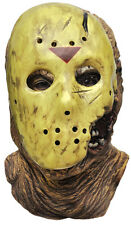 Halloween Costume FRIDAY THE 13TH JASON LATEX DELUXE HOCKEY MASK Haunted House