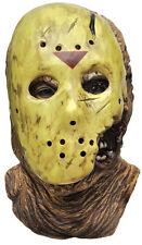 Halloween LifeSize Costume JASON LATEX DELUXE WITH HOCKEY MASK Haunted House