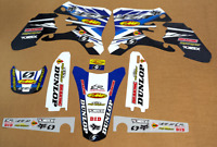 MOTOCROSS TEAM GRAPHICS YAMAHA 2005 YZF 250 / 450 DIRT BIKE DECALS YZ250F YZ450F