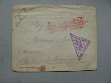 ITALY, censored Red Cross PW cover 1917
